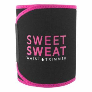 Sports Research Sweet Sweat Premium Waist Trimmer (Pink Logo)