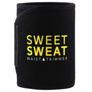 Sports Research Sweet Sweat Premium Waist Trimmer (Yellow)
