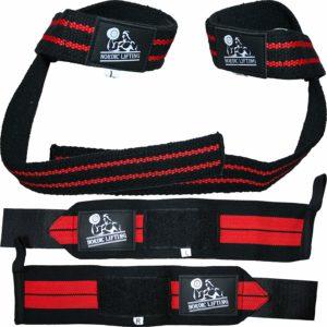 5. Wrist Wraps + Lifting Straps Bundle