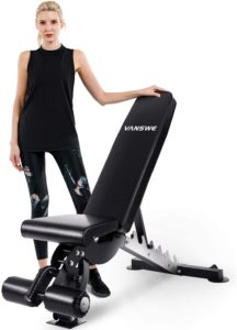 Vanswe Adjustable Weight Bench