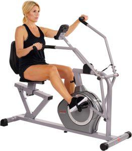 Fitness Magnetic Recumbent Bike Exercise Bike