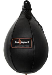 Pro Impact Speed bag Black