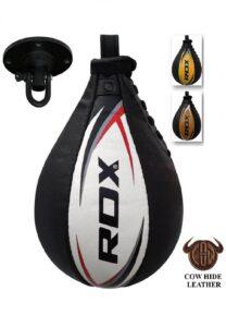 RDX Speed Ball Boxing Genuine Leather MMA Muay Thai Traini