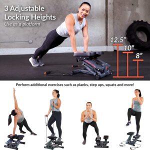 Women's Health Men's Health Bluetooth Cardio Stair Stepper