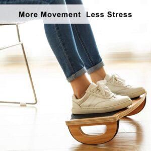 Under Desk Balance Board by StrongTek